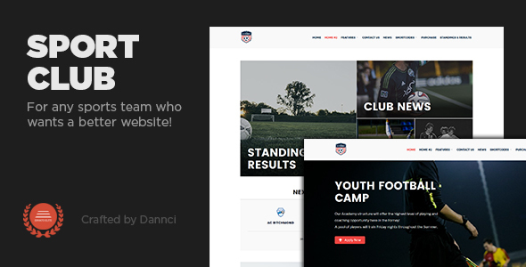 Cricket Templates from ThemeForest