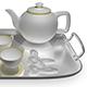 Ceramic Tea Set - 3DOcean Item for Sale