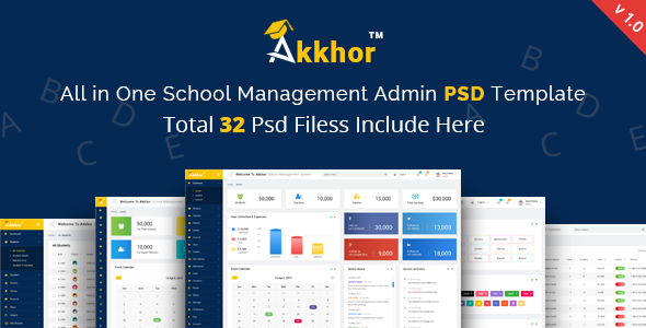 School Management System Website Templates from ThemeForest