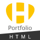 HUNT - Personal Portfolio and Corporate  HTML Template - ThemeForest Item for Sale