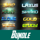 40 Kreat Bundle Text Effect Styles - GraphicRiver Item for Sale