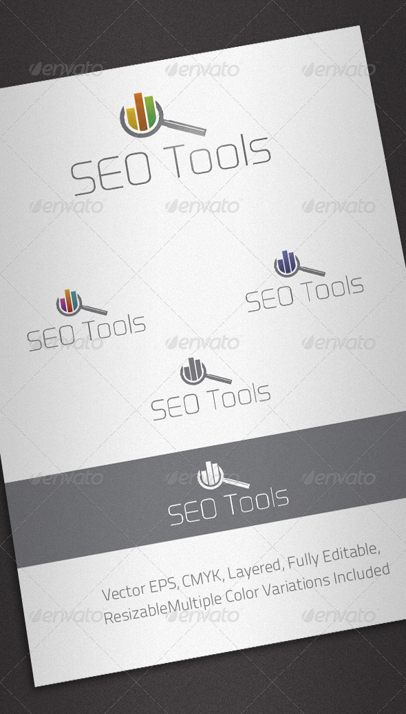 Seo Tools Logo Template
