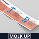 Tri-Fold Brochure Mockup - Din A4 A5 A6 Landscape - GraphicRiver Item for Sale