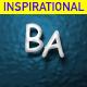 Inspirational Fresh and Positive Uplifting