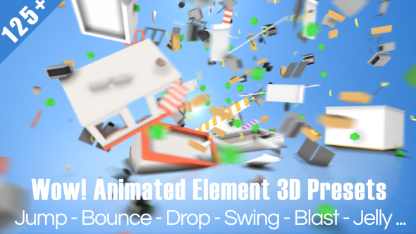 3D After Effects Scripts & Presets from VideoHive