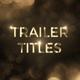 Elegance Trailer Titles - VideoHive Item for Sale