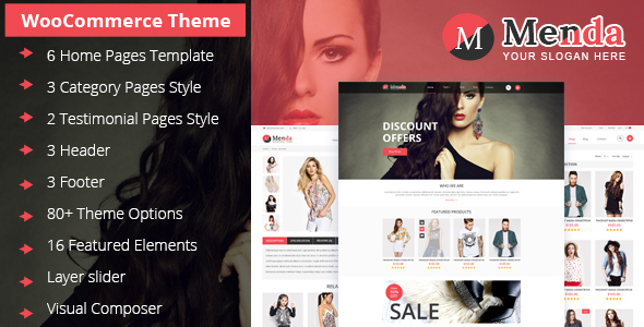 Menda - Ecommerce Wordpress Themes
