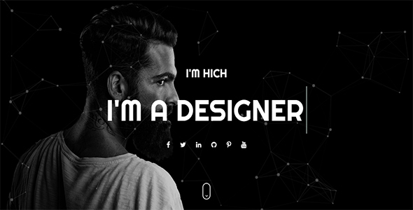 Hitch - One Page Personal HTML Template