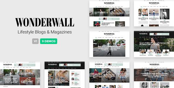 Wonderwall - Responsive Magazine Theme