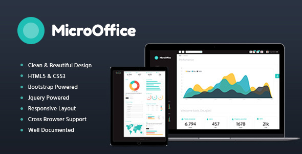 Micro Office | HTML Admin Template
