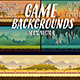 Game Backgrounds Set and Elements File - GraphicRiver Item for Sale