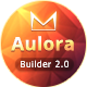 Aulora - Responsive Email + MailBuild Online - ThemeForest Item for Sale