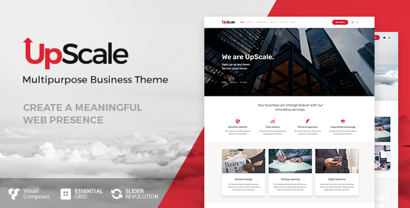 UpScale - Business Theme