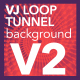 VJ Loop Tunnel Abstract Duotone Background V2 - VideoHive Item for Sale