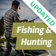 Fishing and Hunting Hobby WordPress Theme - ThemeForest Item for Sale