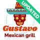 Gustavo | Mexican Grill, Bar & Restaurant WordPress Theme - ThemeForest Item for Sale