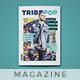 Tribepop Magazine Template - GraphicRiver Item for Sale