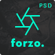 FORZO – Creative Photography PSD Template - ThemeForest Item for Sale