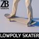 Lowpoly Man 003 - 3DOcean Item for Sale