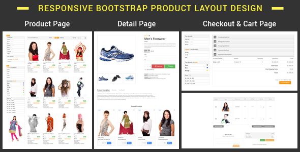 PList - Bootstrap Product Layout Pack