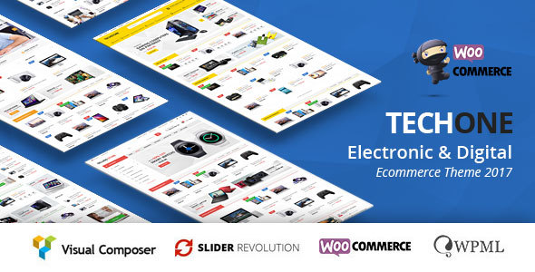 TechOne - Multipurpose WooCommerce Theme ( RTL Supported )