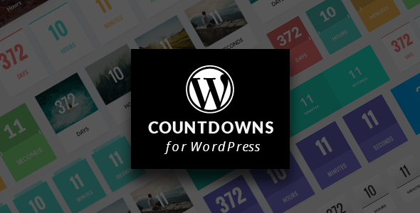 WordPress Countdown Plugin with Layout Builder