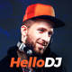 HelloDJ - DJ / Producer / Music Band Responsive Muse Template - ThemeForest Item for Sale