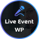 Liveevent - Single Conference Meetup WordPress Theme - ThemeForest Item for Sale