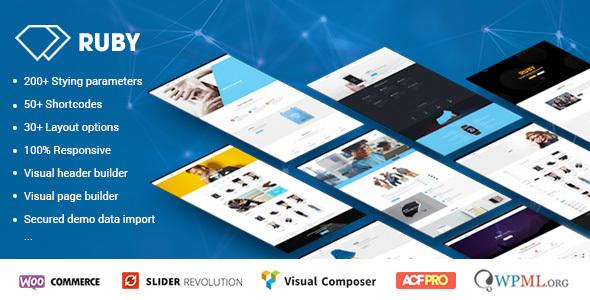 Ruby – WordPress Theme for Business and Portfolio