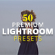 50 Premium Lightroom Presets - GraphicRiver Item for Sale