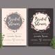 Wreath - Bridal Shower Invitation - GraphicRiver Item for Sale