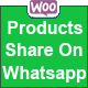 Woocommerce Products Share On Whatsapp - CodeCanyon Item for Sale