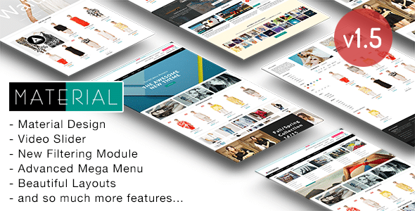 Material Design Templates from ThemeForest
