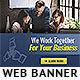 Corporate Web Banner Design Template 73 - Lite - GraphicRiver Item for Sale