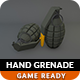 Low Poly Hand Grenade - 3DOcean Item for Sale