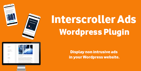 Interscroller Ads - Wordpress Plugin