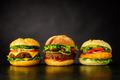 Cheeseburger, Burger and Chickenburger - PhotoDune Item for Sale