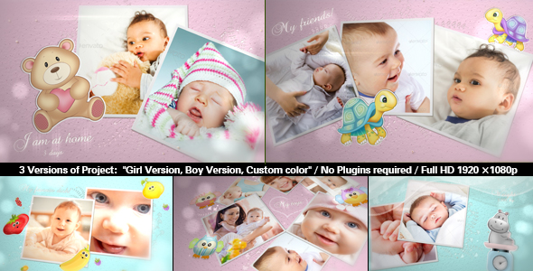 Baby Photo Album | Lovely Slideshow Cracked Videohive (6 26