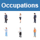 Occupations II Color Vector Icons - GraphicRiver Item for Sale