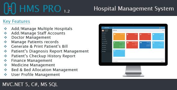 HMS - Hospital Management System - SaaS