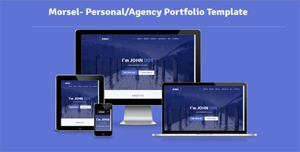 Morsel- Personal/Agency Portfolio Template