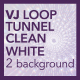 VJ Loop Tunnel Abstract Clean White Background - VideoHive Item for Sale