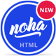 Noha - A modern & unique Agency / Studio Template - ThemeForest Item for Sale