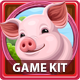 Lucky Farm Slots Game KIT - GraphicRiver Item for Sale