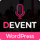 D Event - Conference WordPress Theme - ThemeForest Item for Sale