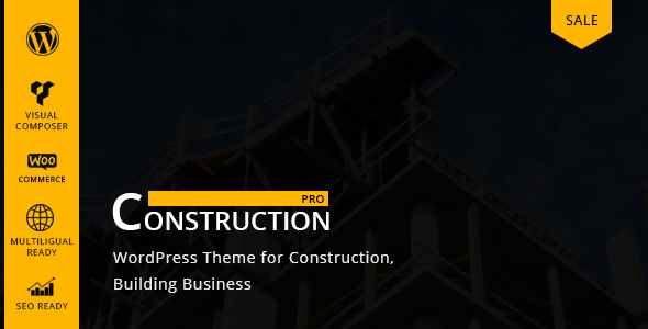 Constructionpro - Building &  Renovation Company WordPress Theme