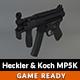 Low Poly Heckler & Koch MP5K - 3DOcean Item for Sale