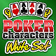 """Poker Characters """"White set"""" : 16 uniques figures - GraphicRiver Item for Sale"""