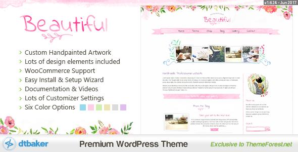 Beautiful Floral Watercolor - Blog & Shop