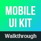 Walkthroughs - Mobile Template UI kit - GraphicRiver Item for Sale